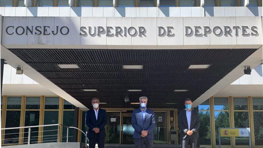 ProLiga, ACFF y la LNFS se reúnen con Joaquín de Arístegui, director general del CSD